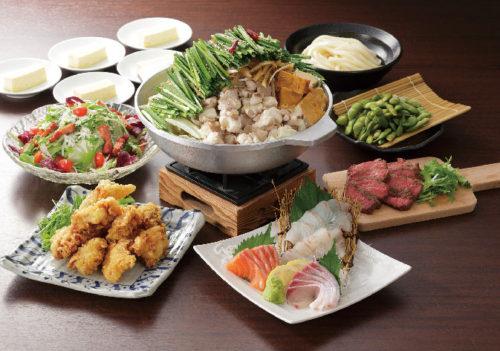 選べる3種の鍋コース 税込4,000円
