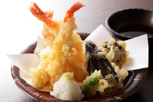 卵を使わない軽い仕上がりの天ぷら
